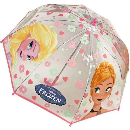 Umbrela transparenta 42 cm Frozen