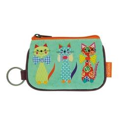 Eclectic portofel breloc Grumpy Owl