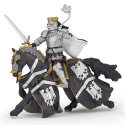 Figurina Papo - Rege cu blazon vultur gri