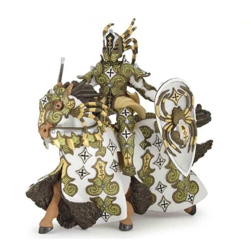 Set figurine Papo - Cavalerul paianjen verde