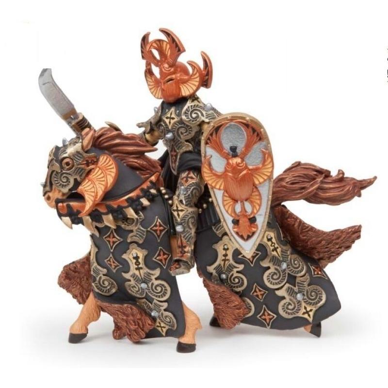 Set figurine Papo - Cavalerul carabus aramiu