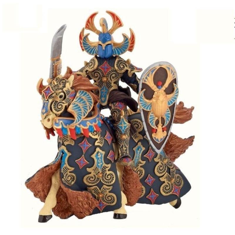 Set figurine Papo - Cavalerul carabus albastru