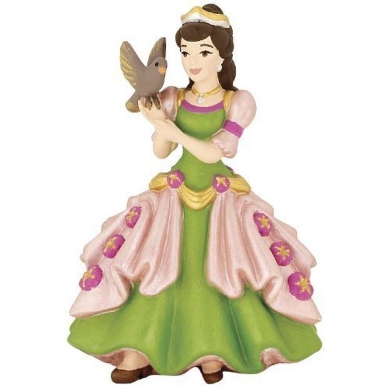Figurina Papo-Printesa cu pasare