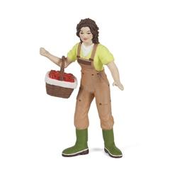 Figurina Papo - Femeie fermier cu cos