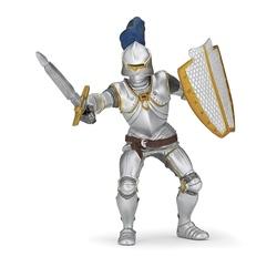 Figurina Papo - Cavaler in armura (albastru)