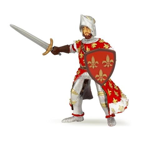 Figurina Papo-Printul Filip (rosu)