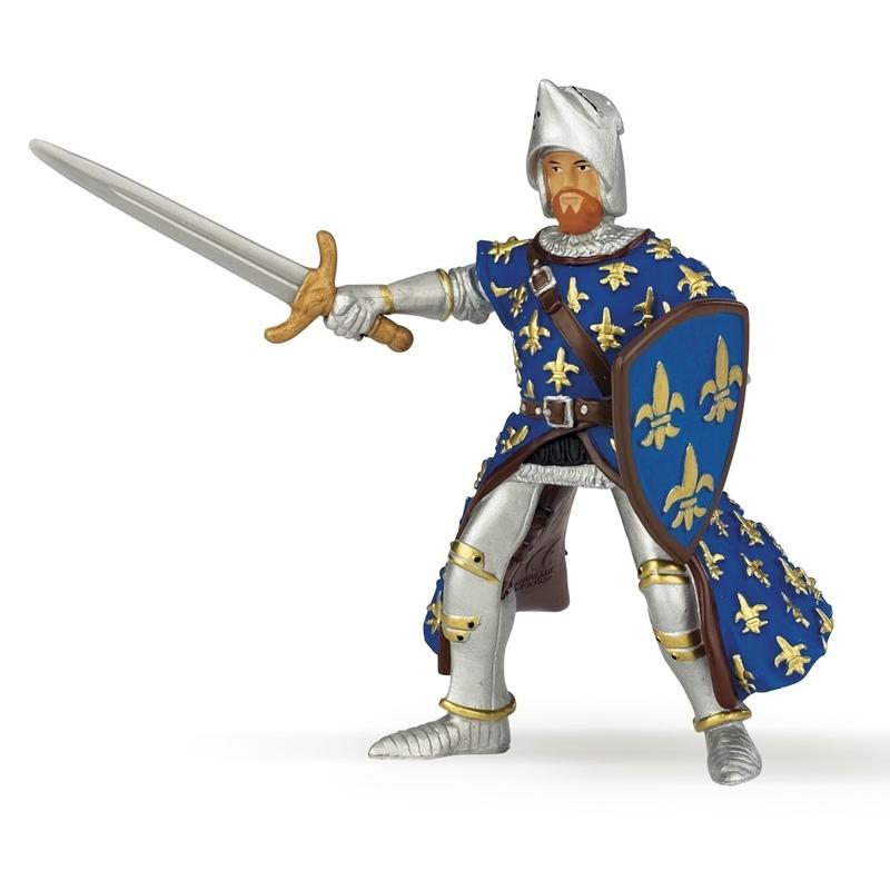 Figurina Papo-Printul Filip (albastru)