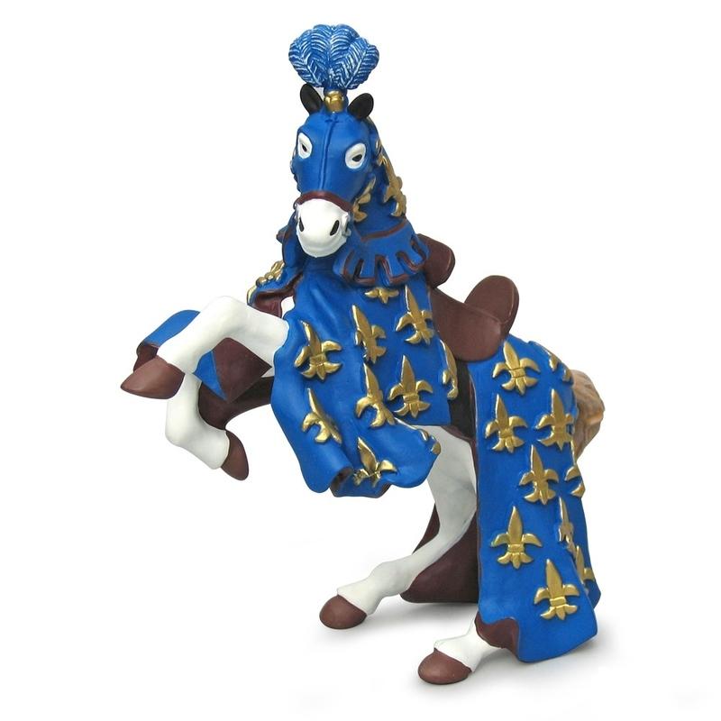 Calul printul Filip (albastru) - Figurina Papo