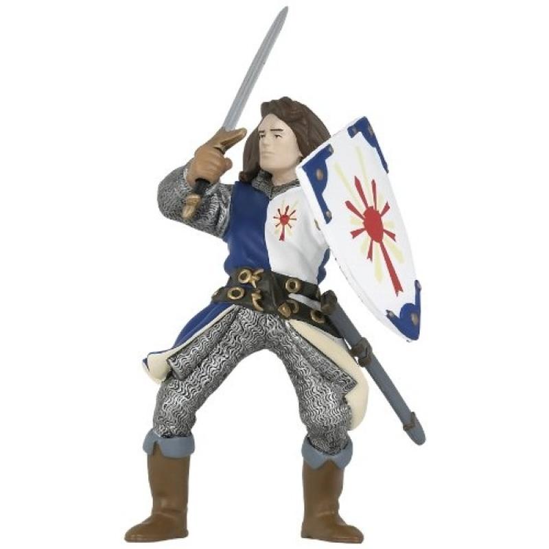 Figurina Papo-Lancelot (albastru)