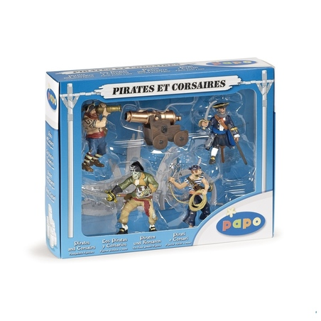 Set pirati (5 fig)