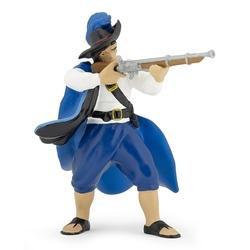 Figurina Papo - Capitan regal cu muscheta albastru