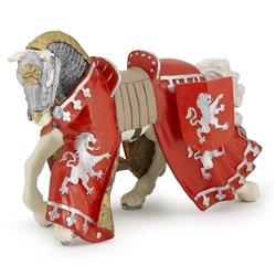 Calul printului Richard rosu - Figurina Papo