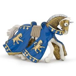 Calul printului Richard albastru - Figurina Papo