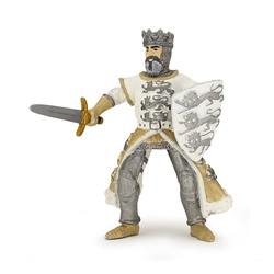Figurina Papo - Regele Richard alb