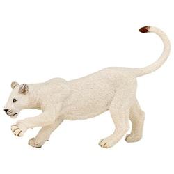 Leu alb tanar - Figurina Papo