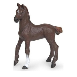 Manz Alezan englez maro inchis - Figurina Papo