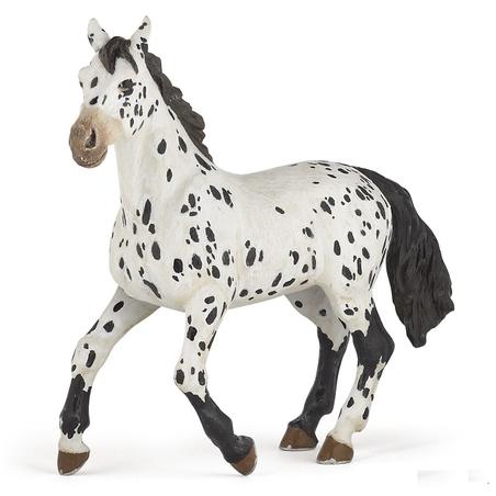 Figurina Papo-Iapa appaloosa neagra