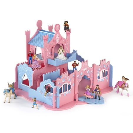 Castel Papo din lemn pentru printese