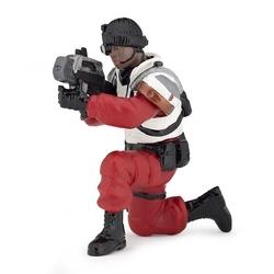 Figurina Papo-Razboinic rosu cu laser