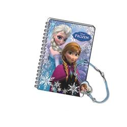 Mini jurnal 3D cu bratara snur Ana si Elsa