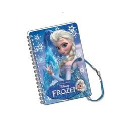 Mini jurnal 3D cu bratara snur Elsa
