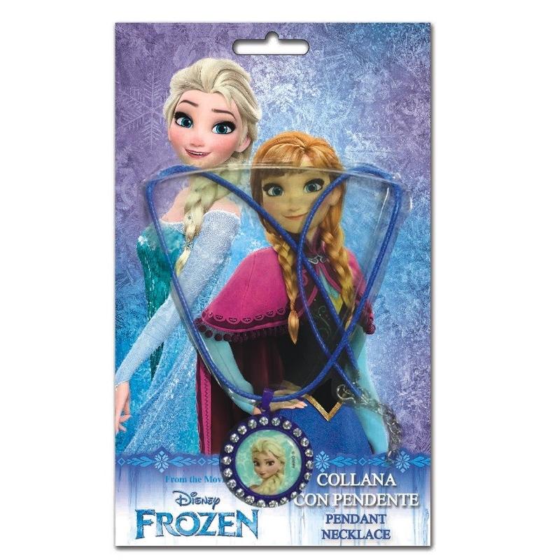 Colier cu pandantiv Frozen Disney - Elsa