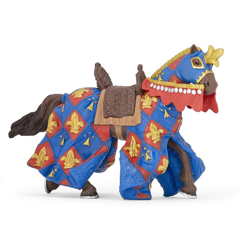 Figurina Papo-Cal Crin albastru