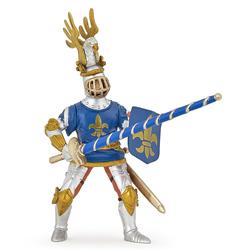 Figurina Papo-Cavaler Crin albastru