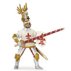 Figurina Papo-Cavaler Crin alb