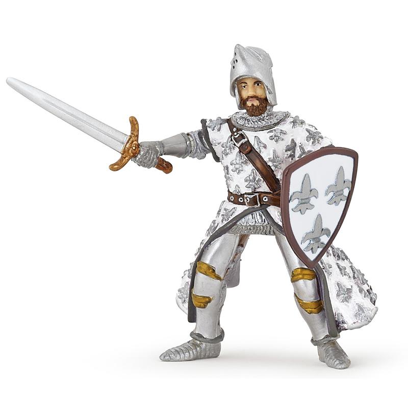 Figurina Papo-Printul Filip alb