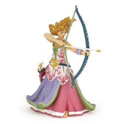 Figurina Papo-Printesa cu arc si sageti