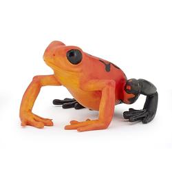 Figurina Papo-Broasca ecuatoriala rosie
