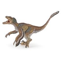 Figurina Papo - Velociraptor cu pene