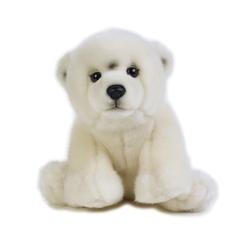 Jucarie din plus National Geographic Urs polar pui 22 cm