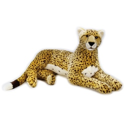 Jucarie din plus National Geographic Ghepard gigant 110 cm