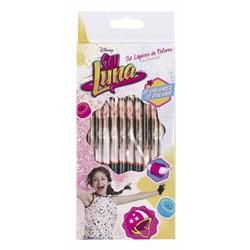 Set 12 creioane colorate SOY LUNA 9x21