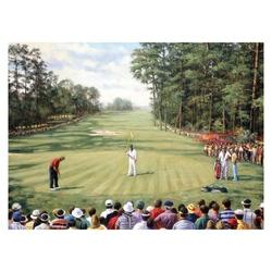Pictura pe nr avansati mare-Golf 32x40 cm