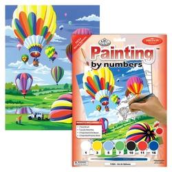 Prima pictura pe numere junior mica - Baloane cu aer Jad Flamande