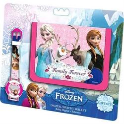 Set portofel+ceas digital Frozen Disney