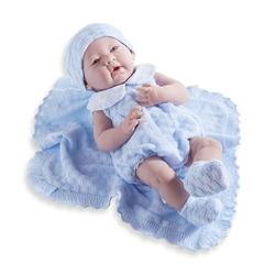 Jucarie bebe nou-nascut baiat 38cm cu trusou
