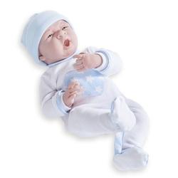Jucarie bebe nou-nascut baiat costumas bleu 38cm