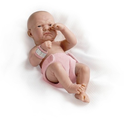 Jucarie bebe nou-nascut fetita trista 36 cm