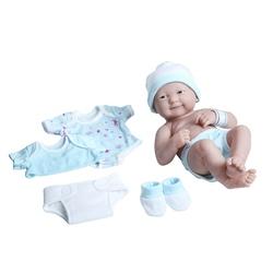Jucarie bebelus 36 cm cu set de hainute