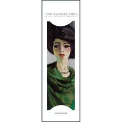 Semn de carte Lady in a Black Hat, Kees van Dongen, Hermitage
