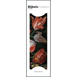 Semn de carte Flowers in a Glass Vase, Abraham Mignon