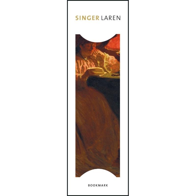 Semn de carte Dame bij lamplicht, Leo Gestel, Singer, Laren