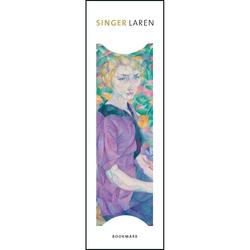 Semn de carte Vrouw tussen bloemen, Leo Gestel, Singer, Laren