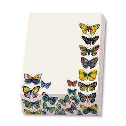 Bloc notite 72 file Plaat met vlinders