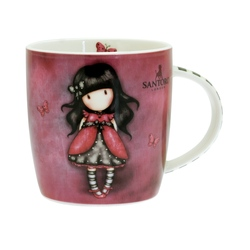 Cana portelan in cutie Gorjuss - Ladybird 330ml