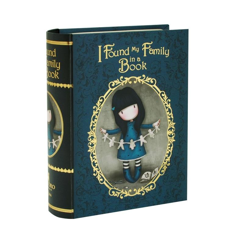 Gorjuss Chronicles Set 2 cutii carte - Family In a Book
